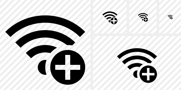 Wi Fi Add Icon