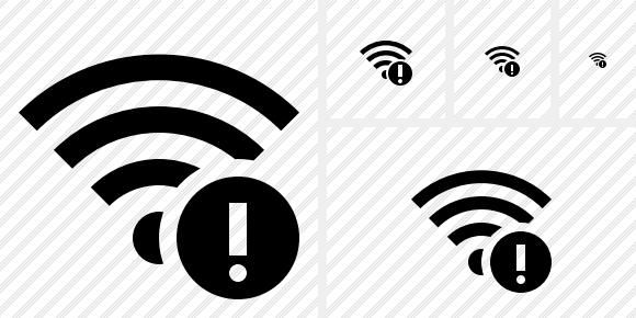 Wi Fi Warning Icon