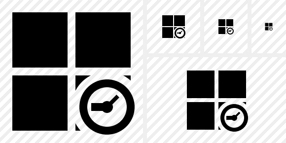 Windows Clock Icon