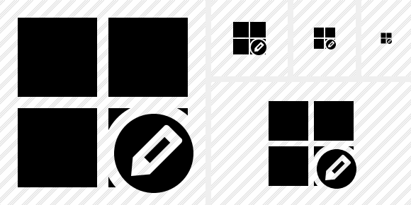 Windows Edit Icon
