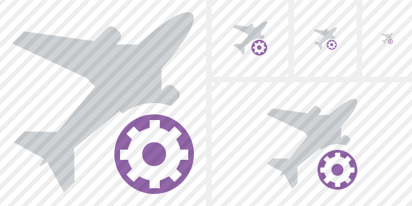 Airplane Settings Icon