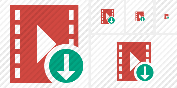 Movie Download Icon