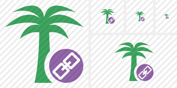 Palmtree Link Icon