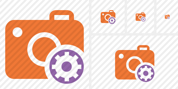 Photocamera Settings Icon