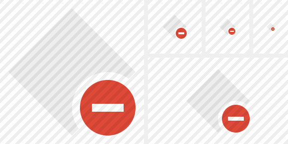 Rhombus Light Stop Icon