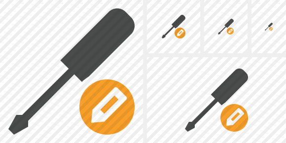 Screwdriver Edit Icon