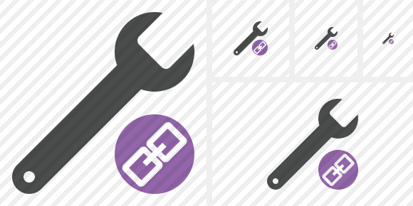 Spanner Link Icon