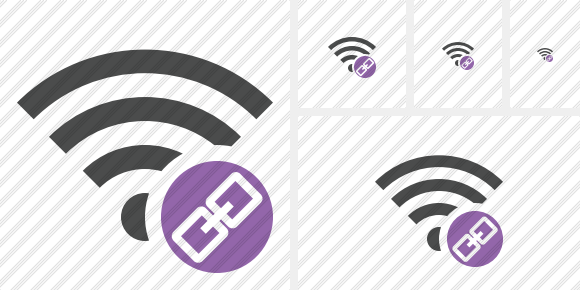 Wi Fi Link Icon