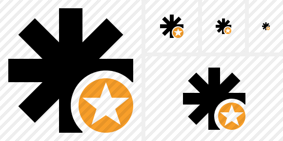Asterisk Star Icon