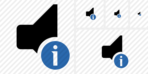 Audio Information Icon