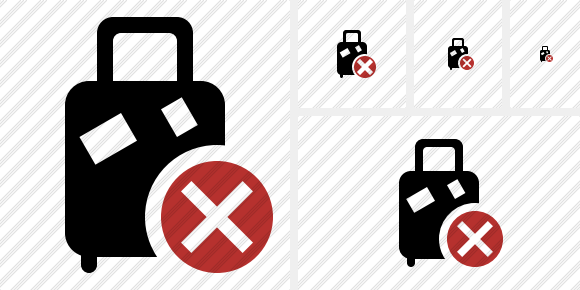 Baggage Cancel Icon