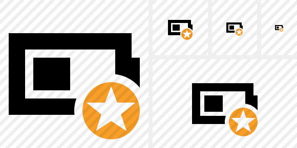 Battery Star Icon