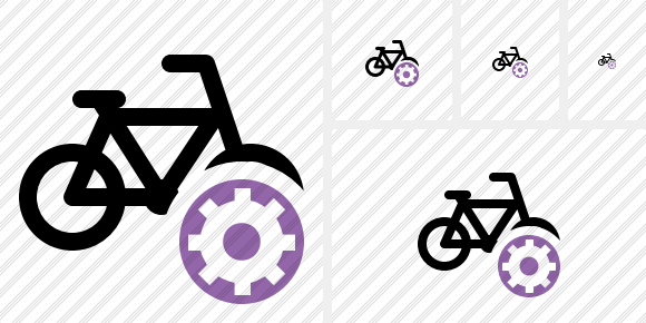 Bicycle Settings Icon