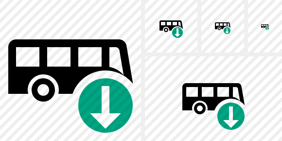 Bus Download Icon