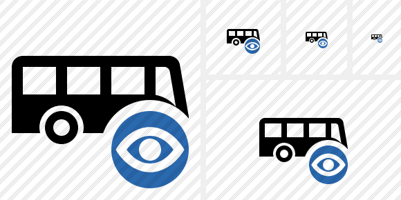 Bus View Icon