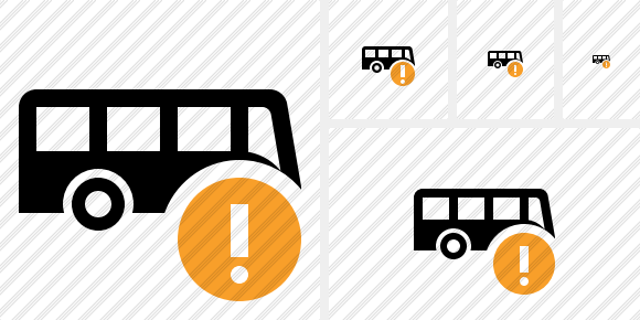 Bus Warning Icon