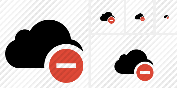 Cloud Stop Icon