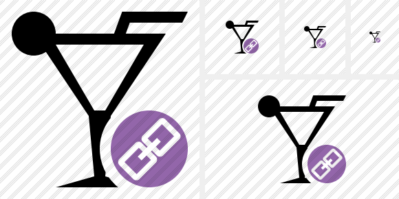 Cocktail Link Icon