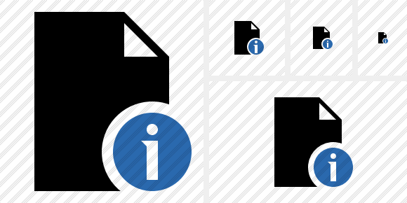 Document Blank Information Icon