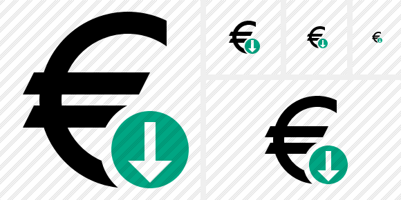 Euro Download Icon