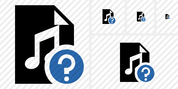 File Music Help Icon