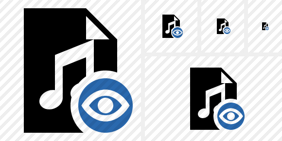 File Music View Icon