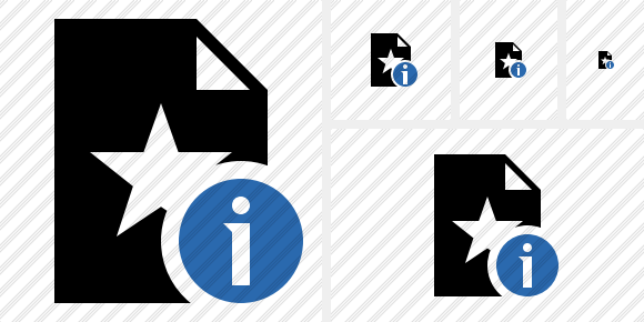File Star Information Icon