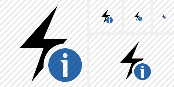 Flash Information Icon