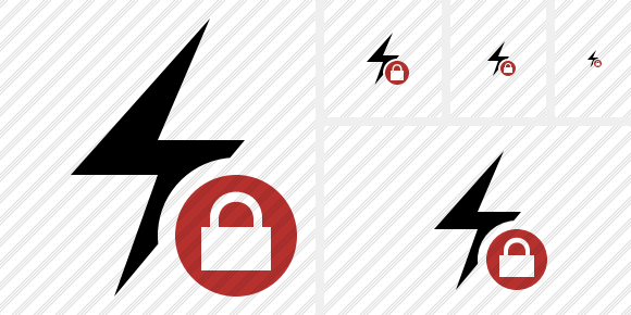 Flash Lock Icon