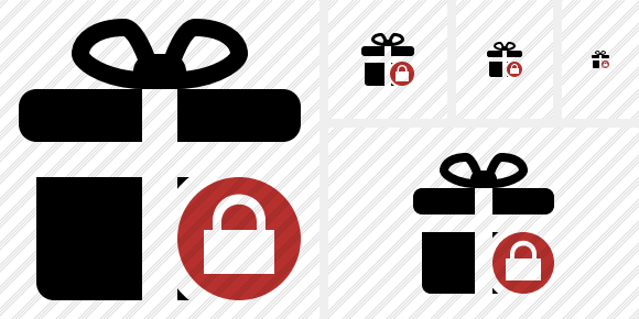 Gift Lock Icon