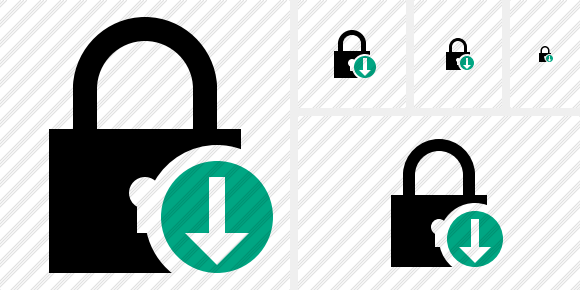 Lock Download Icon
