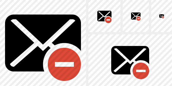Mail Stop Icon