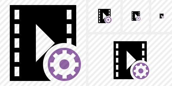 Movie Settings Icon