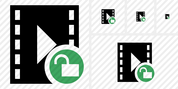 Movie Unlock Icon