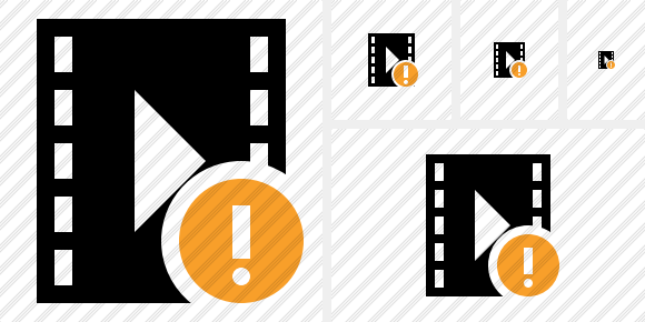 Movie Warning Icon