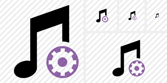 Music Settings Icon