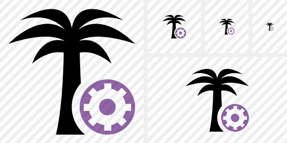 Palmtree Settings Icon