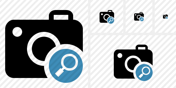 Photocamera Search Icon