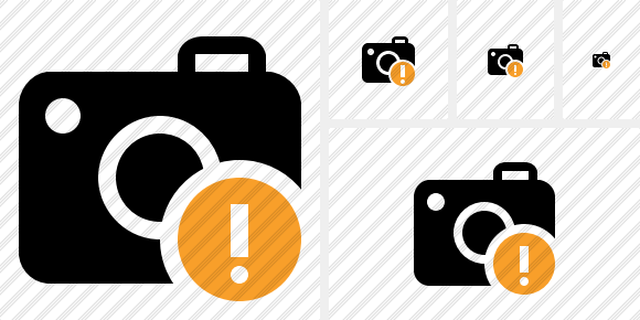 Photocamera Warning Icon