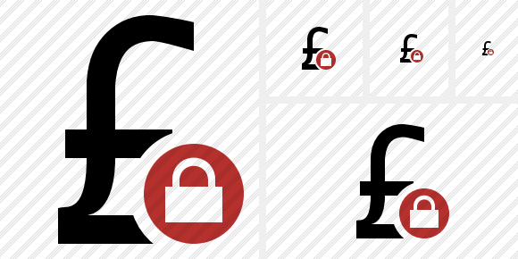 Pound Lock Icon