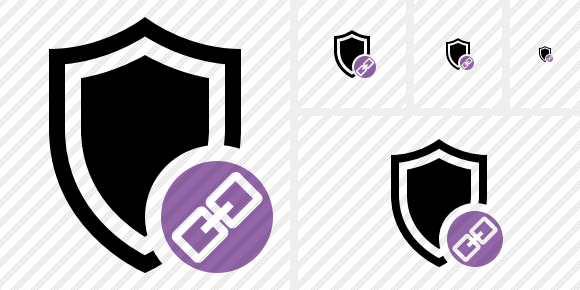 Shield Link Icon