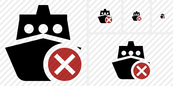 Ship 2 Cancel Icon