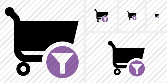 Shopping Filter Icon