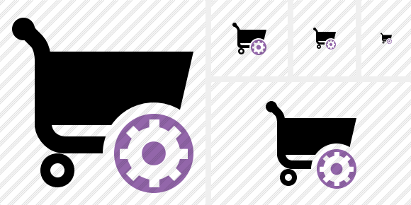 Shopping Settings Icon