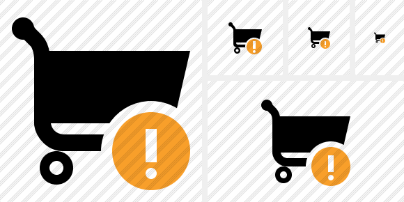 Shopping Warning Icon