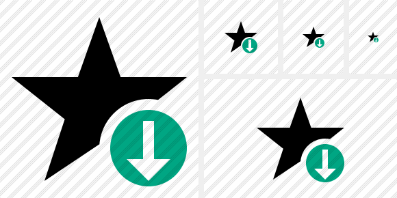 Star Download Icon