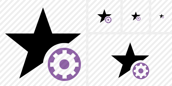 Star Settings Icon