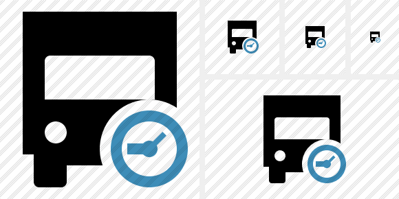 Transport 2 Clock Icon
