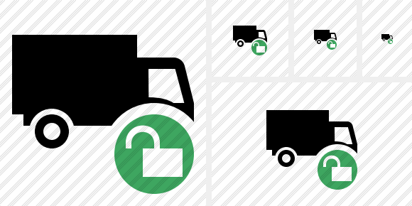 Transport Unlock Icon