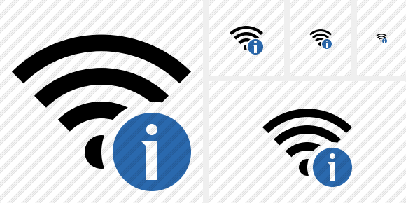 Wi Fi Information Icon
